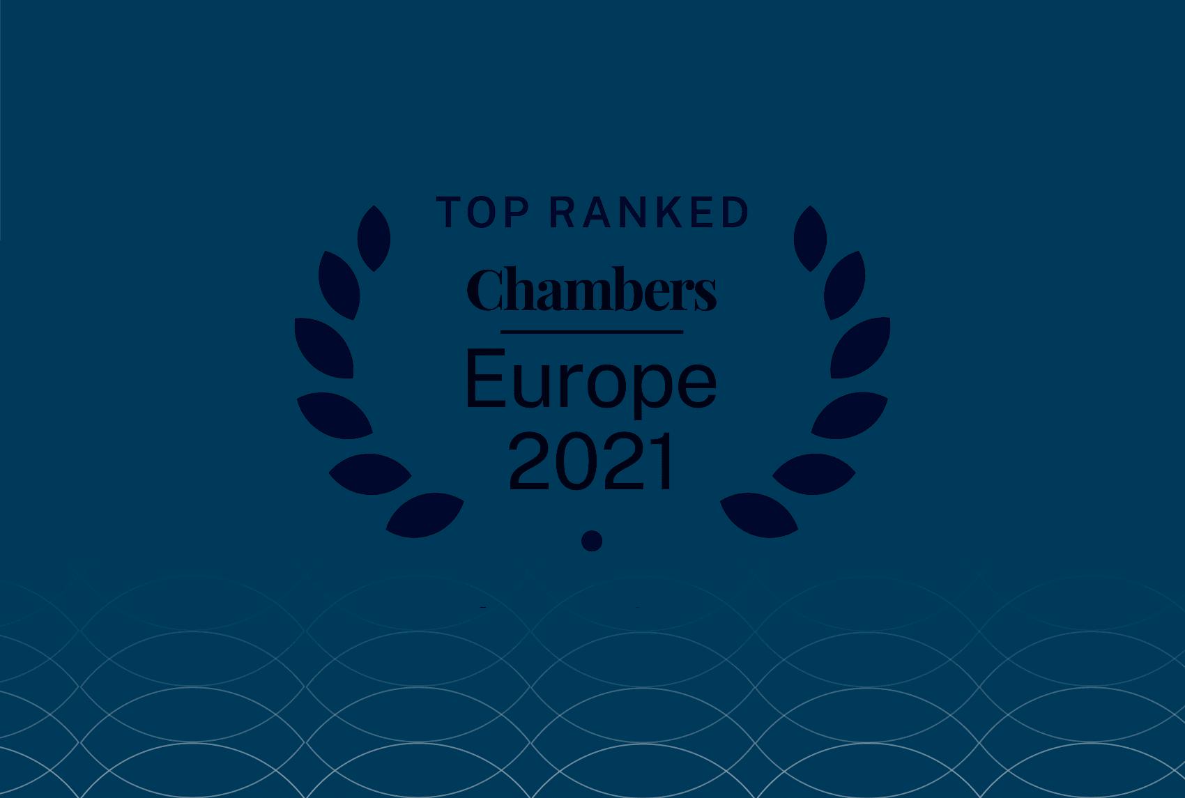 Ljestvica Chambers Europe 2021